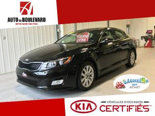 Used 2015 Kia Optima EX LUXE GPS CUIR TOIT PANO for sale in Notre-dame-des-pins, QC