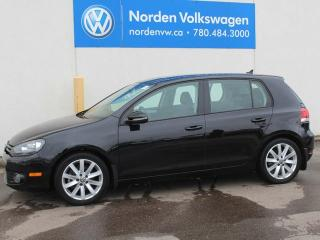 Used 2012 Volkswagen Golf TDI HIGHLINE - AUTOMATIC / HEATED LEATHER / SUNROOF for sale in Edmonton, AB