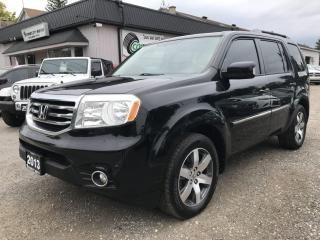 Used 2013 Honda Pilot Touring 4WD 5-Spd AT with DVD for sale in Bloomingdale, ON
