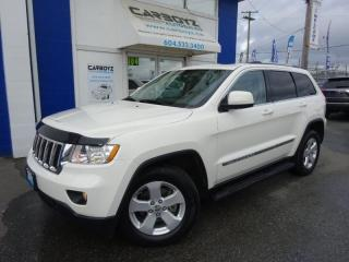 Used 2012 Jeep Grand Cherokee Laredo 4WD V8, Nav, Sunroof, Leather, Tow for sale in Langley, BC