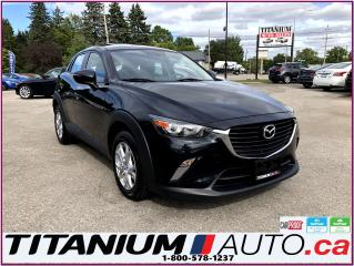 Used 2016 Mazda CX-3 GS-GPS-Camera-Sunroof-Heated Leather-Traction Cont for sale in London, ON