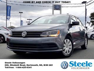 Used 2015 Volkswagen Jetta Trendline+ - Low mileage, VW Certified, Off Lease for sale in Dartmouth, NS