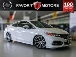 Used 2015 Honda Civic Si Coupe, Navigation, Bluetooth, Heated Seats for sale in North York, ON