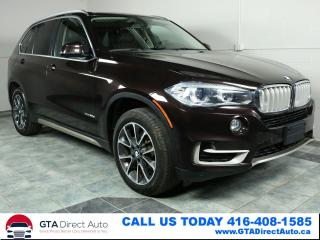 Used 2015 BMW X5 xDrive35d DIESEL AWD NAV PANO 3ROW CAM CERTIFIED for sale in Toronto, ON