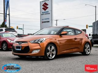 Used 2015 Hyundai Veloster ~Nav ~Backup Cam ~Heated Seats ~Panoramic Roof for sale in Barrie, ON