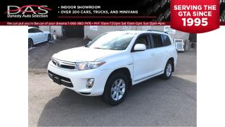 Used 2013 Toyota Highlander HYBRID HYBRID/7 PASS/REAR CAMERA for sale in North York, ON