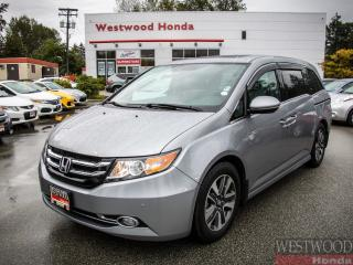 Used 2017 Honda Odyssey Touring , Factory Warranty Until 2024 for sale in Port Moody, BC