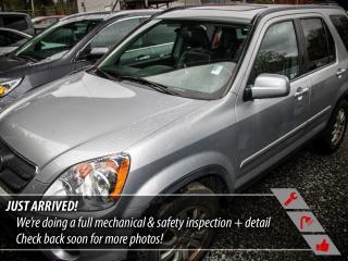 Used 2006 Honda CR-V EX-L for sale in Port Moody, BC