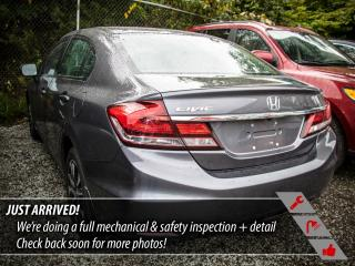 Used 2014 Honda Civic EX, Factory Warranty Until 2021 for sale in Port Moody, BC