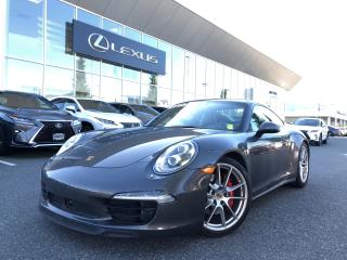 Used 2014 Porsche 911 Carrera 4S Coupe Xmas Special, PDK Tiptronic, LOW for sale in North Vancouver, BC