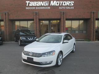 Used 2013 Volkswagen Passat TDI - HIGHLINE - NAVIGATION - SPORT - LEATHER - SUNROOF - BT for sale in Mississauga, ON
