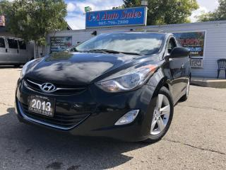 Used 2013 Hyundai Elantra 4dr Sdn with sunroof and alloy rims remote starter for sale in Brampton, ON