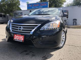 Used 2015 Nissan Sentra 4dr Sdn back up camera heat seats accident free for sale in Brampton, ON