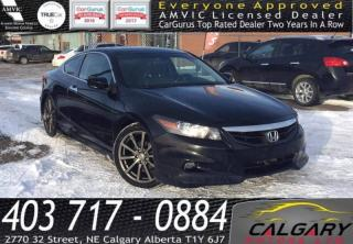 Used 2011 Honda Accord 2dr V6 Auto EX-L w/Navi for sale in Calgary, AB