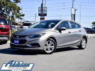 Used 2018 Chevrolet Cruze LT Hatchback Alloys Bluetooth for sale in Mississauga, ON