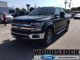 New 2018 Ford F-150 Lariat  500A, SUPERCREW, NAVIGATION for sale in Woodstock, ON