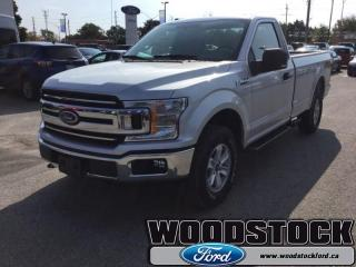 New 2018 Ford F-150 XLT  301A, REGULAR CAB, NAVIGATION for sale in Woodstock, ON