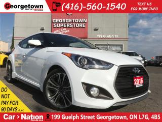 Used 2016 Hyundai Veloster Turbo | LOW KM | LOADED | PANO | CAM for sale in Georgetown, ON