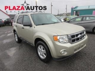Used 2012 Ford Escape XLT for sale in Beauport, QC