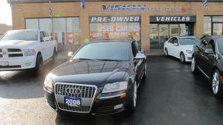 Used 2008 Audi S8 5.2 (A6)/LAMBO V10/NAVI/B UP CAM for sale in North York, ON