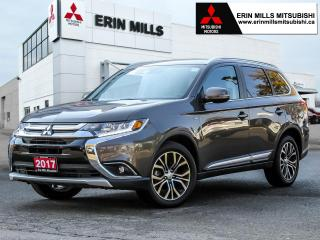 Used 2017 Mitsubishi Outlander GT S-AWC, Leather, Apple Car Play, Android Auto, Sunroof for sale in Mississauga, ON