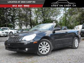 Used 2010 Chrysler Sebring CONVERTIBLE Touring for sale in Ottawa, ON