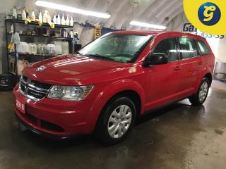 Used 2016 Dodge Journey SE*PHONE CONNECT*PUSH BUTTON IGNITION*AUTO DIMMING MIRROR*VOICE RECOGNITION*KEYLESS ENTRY/PASSIVE ENTRY*HEATED MIRRORS*CLIMATE CONTROL*TRIP COMPUTER*C for sale in Cambridge, ON