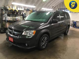 Used 2016 Dodge Grand Caravan PREMIUM PLUS*NAVIGATION*LEATHER*DVD* REVERSE CAMERA*PHONE*POWER DOORS/TAILGATE*HEATED FRONT SEATS/STEERING WHEEL*KEYLESS W/REMOTE START*LEATHER/SUEDE for sale in Cambridge, ON