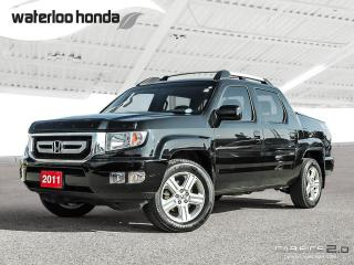 Used 2011 Honda Ridgeline EX-L Back Up Camera, Navigation, and More! for sale in Waterloo, ON