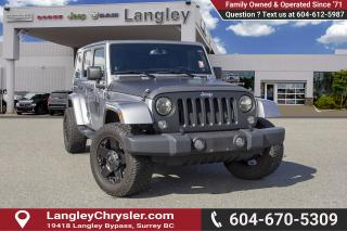Used 2014 Jeep Wrangler Unlimited Sahara <B>*LOCAL BC  *NO ACCIDENTS </B> for sale in Surrey, BC