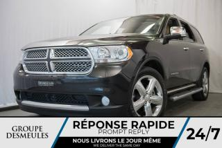 Used 2012 Dodge Durango CITADEL + HEMI + CUIR BEIGE + TOIT **WOW for sale in Laval, QC