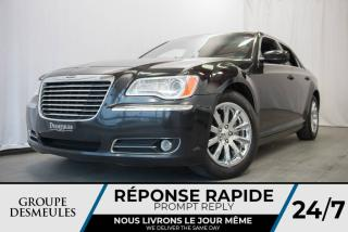 Used 2013 Chrysler 300 TOURING V6 + CUIR + LUMIÈRES LED + UCONN for sale in Laval, QC