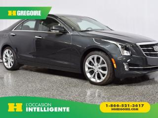 Used 2017 Cadillac ATS Premium Luxury AWD for sale in St-Léonard, QC