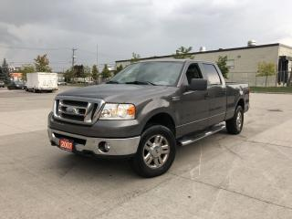 Used 2007 Ford F-150 4x4, 4 Door, Automatic,  3 Years Warranty Availabl for sale in Toronto, ON