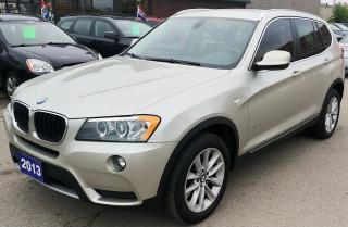 Used 2013 BMW X3 28i for sale in Hamilton, ON