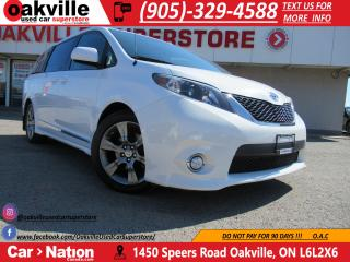 Used 2012 Toyota Sienna SE | 8 PASSENGER | BLUETOOTH | B\U CAM | LEATHER | for sale in Oakville, ON