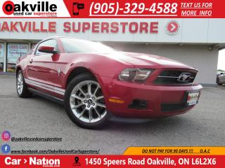 Used 2011 Ford Mustang V6 | LEATHER | HEATED SEATS | ACCIDENT FREE for sale in Oakville, ON