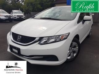 Used 2015 Honda Civic LX-Superb maintenance records for sale in North York, ON