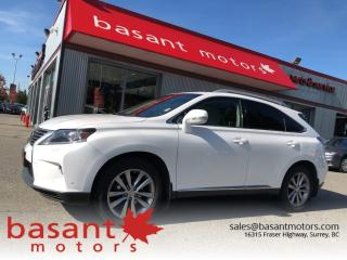 Used 2015 Lexus RX 350 Heated/Vented Seats, Nav, Sunroof, Backup Camera!! for sale in Surrey, BC