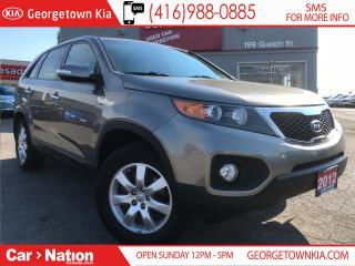 Used 2012 Kia Sorento LX | MANUAL | CLEAN CARPROOF | LOW KMS | for sale in Georgetown, ON