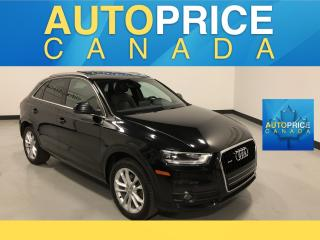 Used 2015 Audi Q3 2.0T Technik NAVIGATION PANOROOF LEATHER for sale in Mississauga, ON