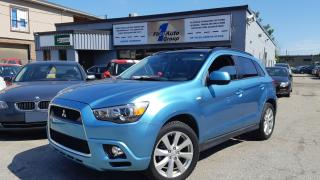 Used 2012 Mitsubishi RVR GT LEATHER, NAVI, BACKUP CAM for sale in Etobicoke, ON
