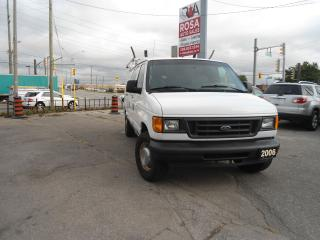 Used 2006 Ford E-250 CARGO VAN 8 CYLINDER  4 NEW TIRES, 4 NEW BRAKES  , for sale in Oakville, ON