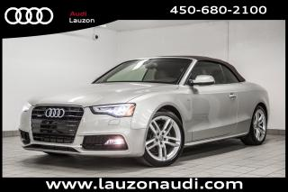 Used 2015 Audi A5 Cabriolet Quattro for sale in Laval, QC
