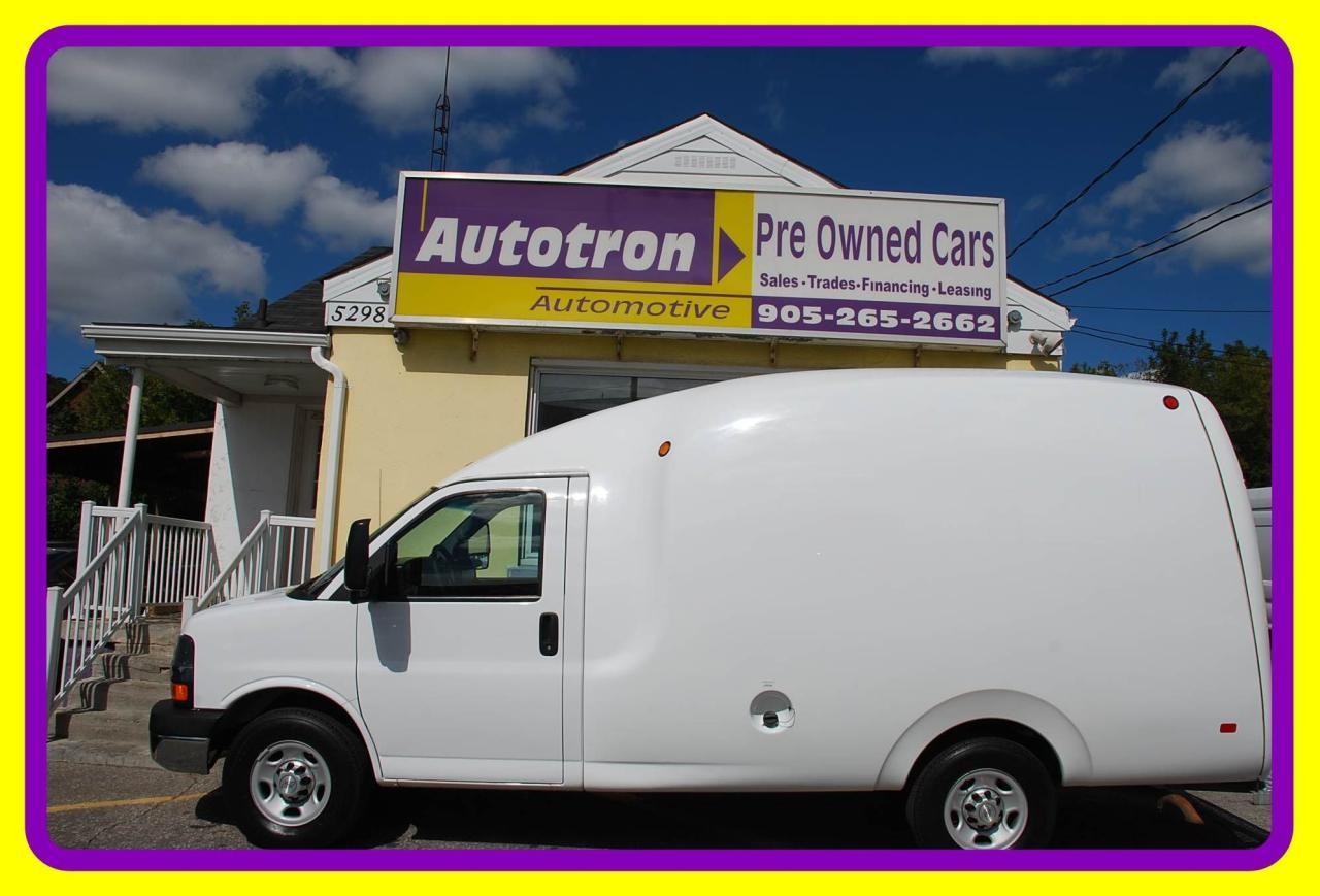 2015 Chevrolet Express 3500 1 Ton G3500 Bubble Van, Loaded