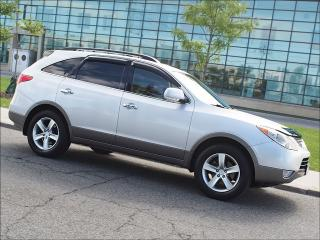 Used 2008 Hyundai Veracruz LIMITED|AWD|DVD|LEATHER|SUNROOF|ALLOYS for sale in Toronto, ON