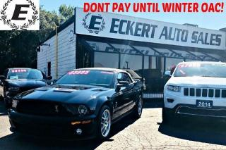 Used 2009 Ford Mustang SHELBY GT500 500HP MANUAL *LOW KMS* for sale in Barrie, ON