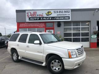 Used 2002 Cadillac Escalade 7 PASSENGER, SUNROOF, BOSE STEREO for sale in London, ON