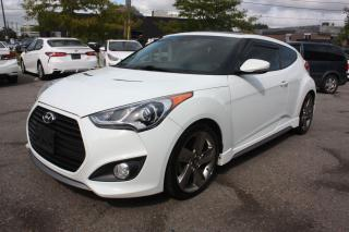Used 2013 Hyundai Veloster TURBO | NAVI | LEATHER | PANO ROOF for sale in Toronto, ON
