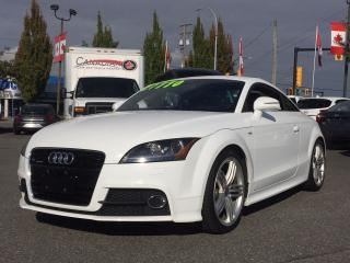 Used 2012 Audi TT S-LINE QUATTRO for sale in Langley, BC